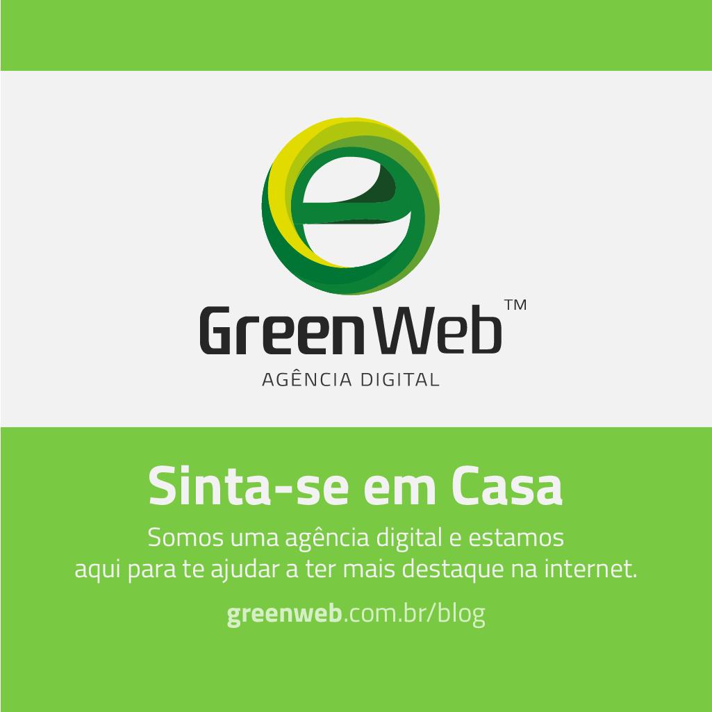 GreenWeb - Somos uma agência digital e estamos aqui para te ajudar a ter mais visibilidade da internet.